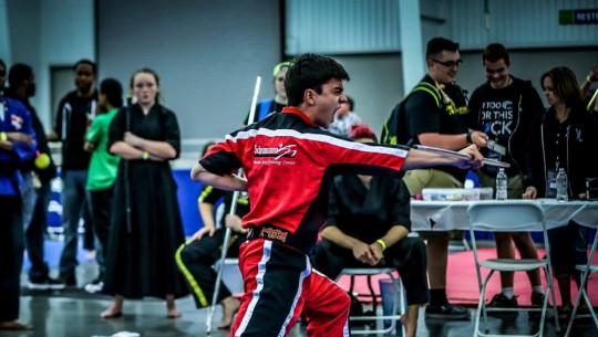 Arturo hizo historia al ser el primer centroamericano en participar en este evento de talla mundial en las artes marciales. (Foto: SportMartialArts.com)