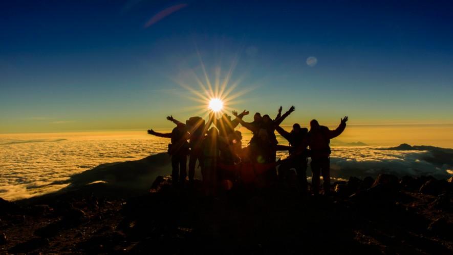 Ascenso al volcán Tajumulco por Sin Rumbo   Marzo 2017