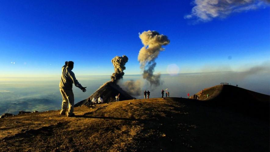 Ascenso nocturno al Volcán Acatenango | Marzo 2017
