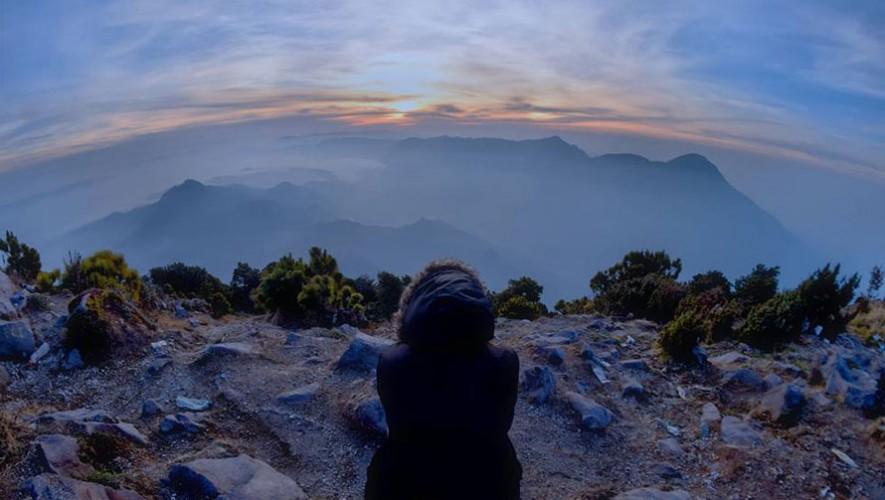 Ascenso a los volcanes Cuxliquel y Santa María | Marzo 2017