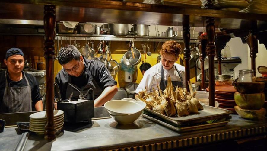 Cena francesa ben fica en bistrot cinq en antigua for Cenas francesas