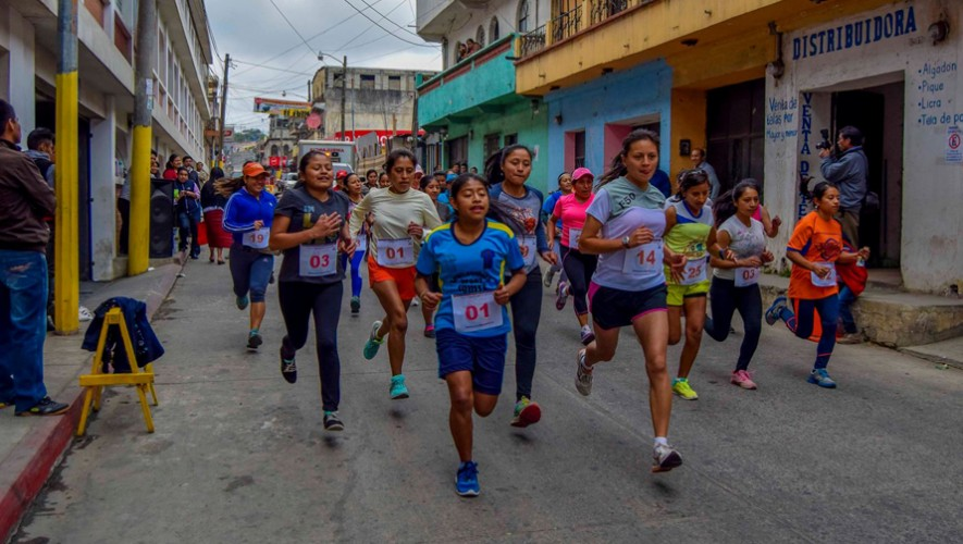 Carrera 10K Don Fily Antigua en Sacatepéquez   Marzo 2017