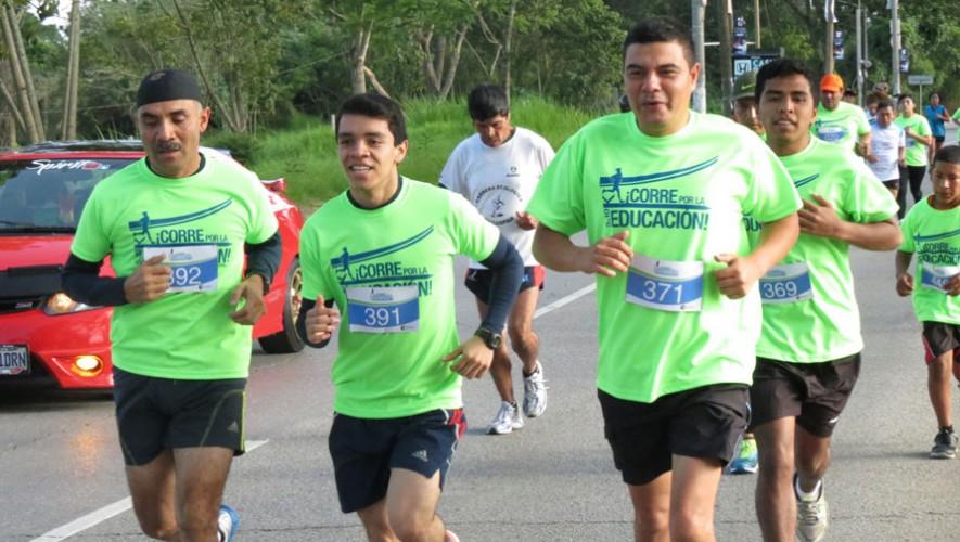 """Carrera """"Corre por la Educación"""" en Ciudad de Guatemala   Marzo 2017"""