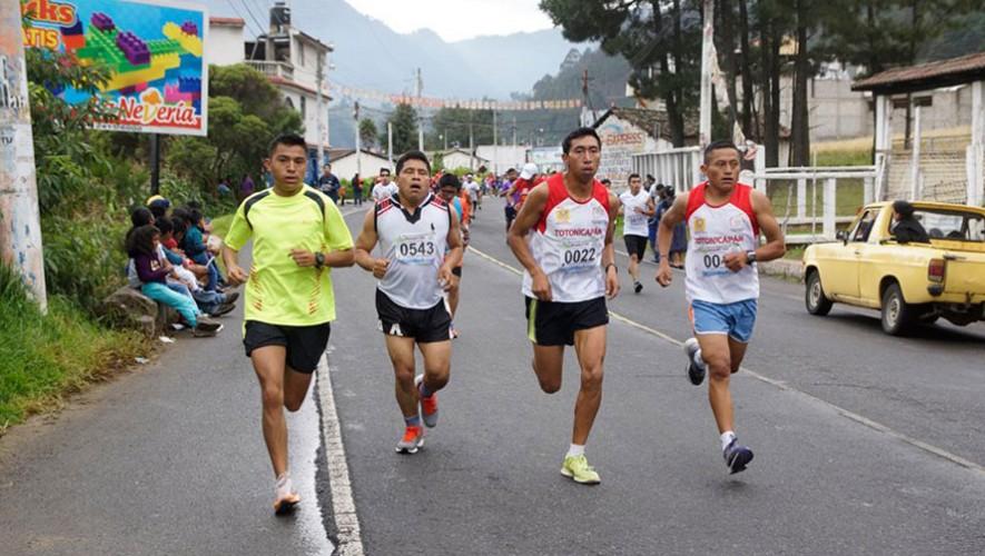 Carrera Las Tres Caídas en Totonicapán | Marzo 2017