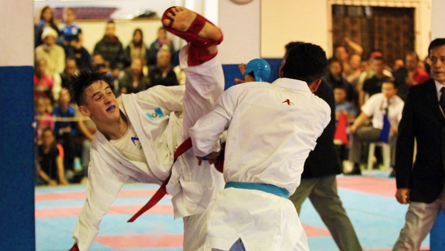 El bicampeón panamericano juvenil se hará presente en la liga más importante del karate mundial. (Foto: CDAG)