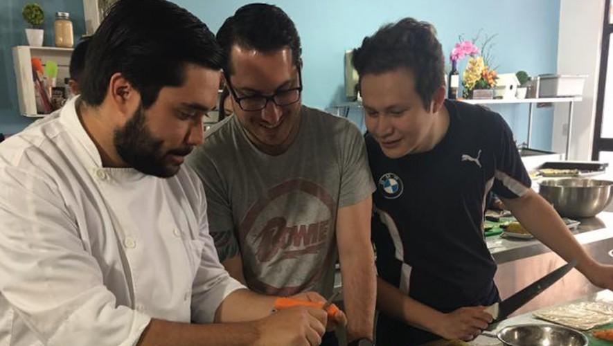 Curso para aprender a hacer distintos tipos de ceviches en Humo's Cooking Studio   Marzo 2017