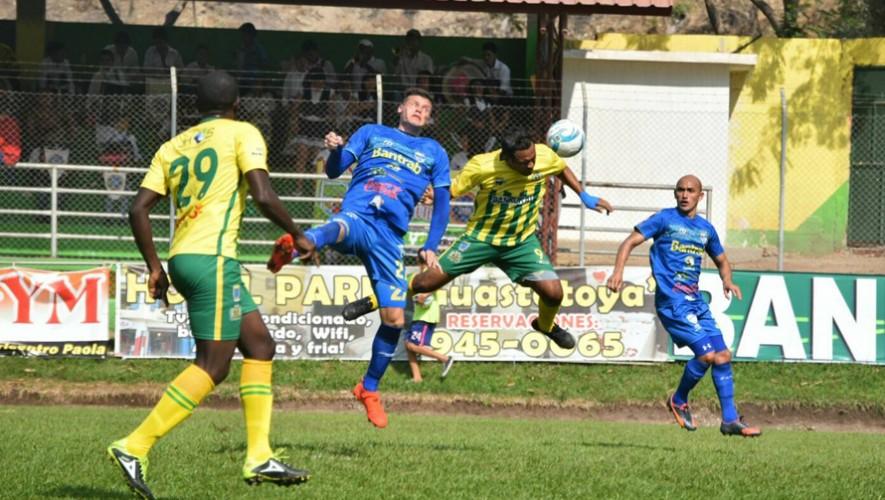 Partido de Cobán vs Guastatoya por el Torneo Clausura   Marzo 2017