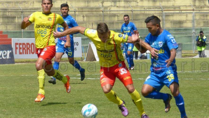Partido de Cobán vs Marquense por el Torneo Clausura | Marzo 2017