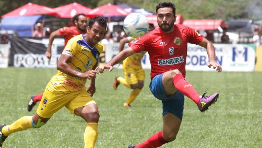 Partido de Cobán vs Municipal por el Torneo Clausura   Marzo 2017