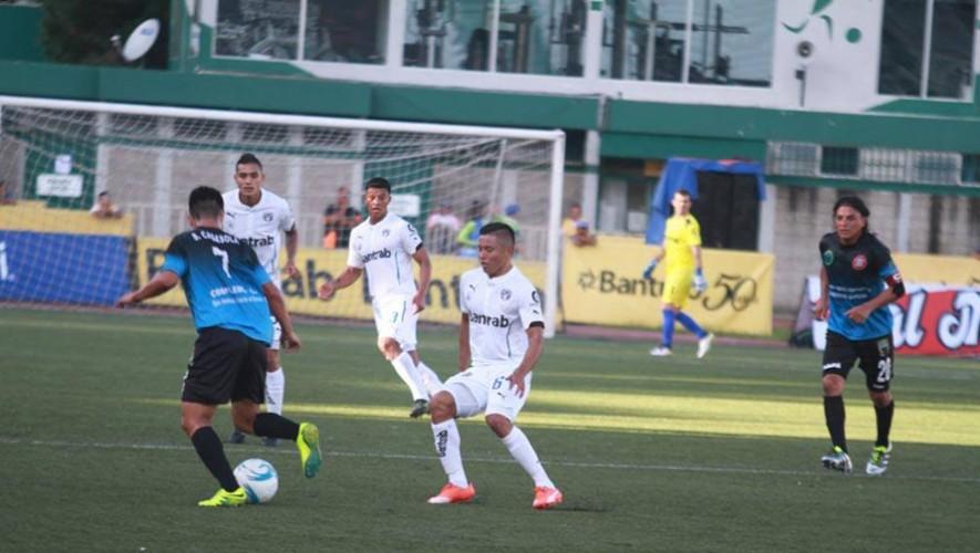 Partido de Comunicaciones vs Carchá por el Torneo Clausura   Marzo 2017