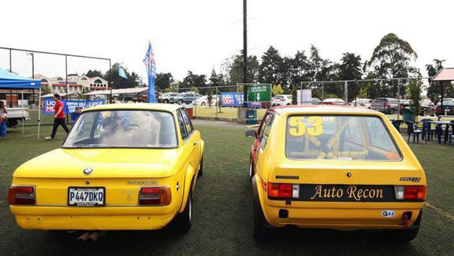 Exposición de carros alemanes en Futeca Cardales de Cayalá | Marzo 2017