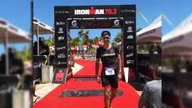 Gabriel Zimeri fue el segundo mejor guatemalteco en el Ironman de Puerto Rico. (Foto: Facebook de Gabriel Zimeri)