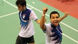 Jonathan Solíz —izquierda— junto a Mariana Paiz lograron el segundo lugar en dobles mixtos. (Foto: COGuatemalteco)