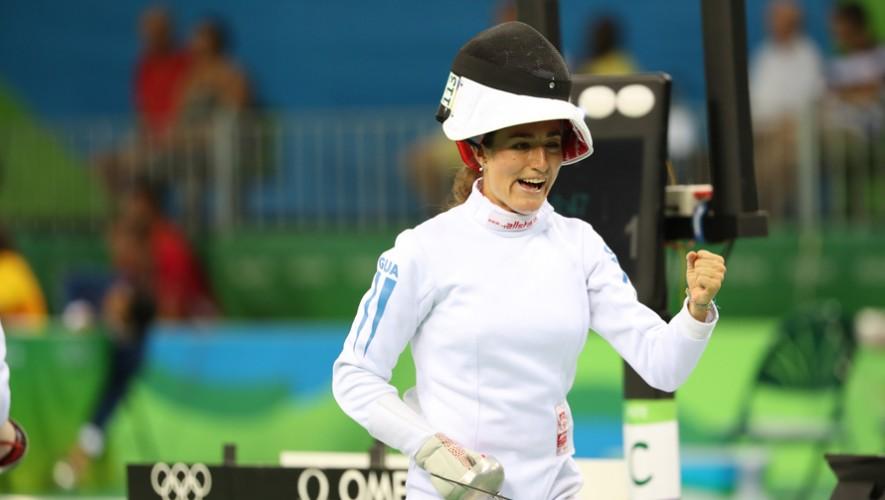 Isa se consagró como la mejor pentatlista de la competencia, superando a una británica y finlandesa. (Foto: COGuatemalteco)
