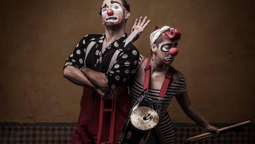"Taller de Clown impartido por ""Los Malafachas"" de Costa Rica   Marzo 2017"
