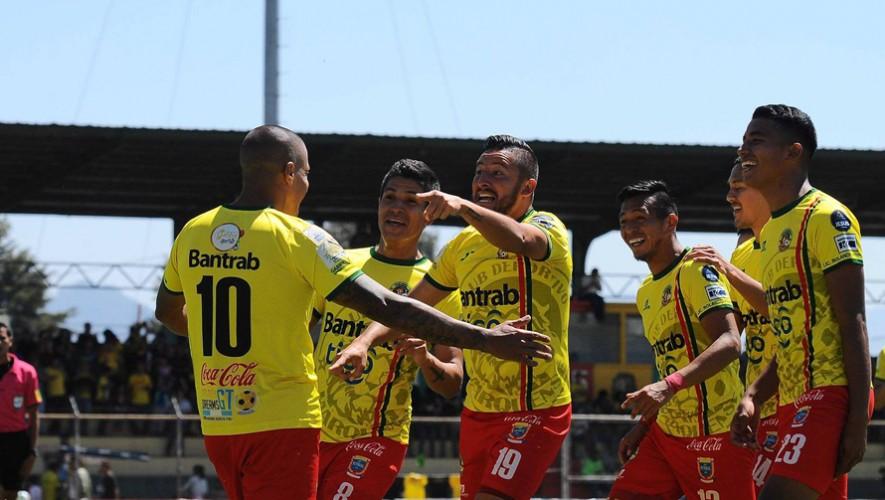 Partido de Marquense vs Petapa por el Torneo Clausura | Marzo 2017