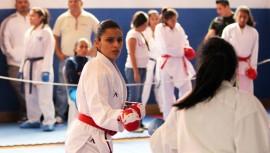 Ilse Díaz ganó el único oro para la categoría mayor. (Foto: CDAG)