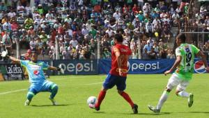 Partido de Municipal vs Antigua por el Torneo Clausura | Marzo 2017