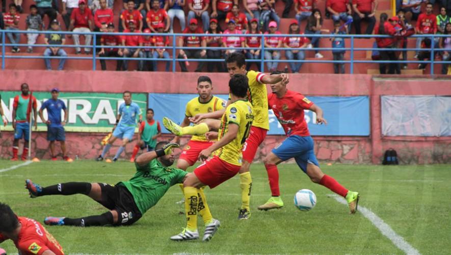 Partido de Municipal vs Marquense por el Torneo Clausura | Marzo 2017