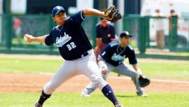 El lanzador de la selección de Guatemala se encuentra como uno de los jugadores a seguir para esta temporada del béisbol universitario de Estados Unidos. (Foto: Cortesía de Neto Corrales)