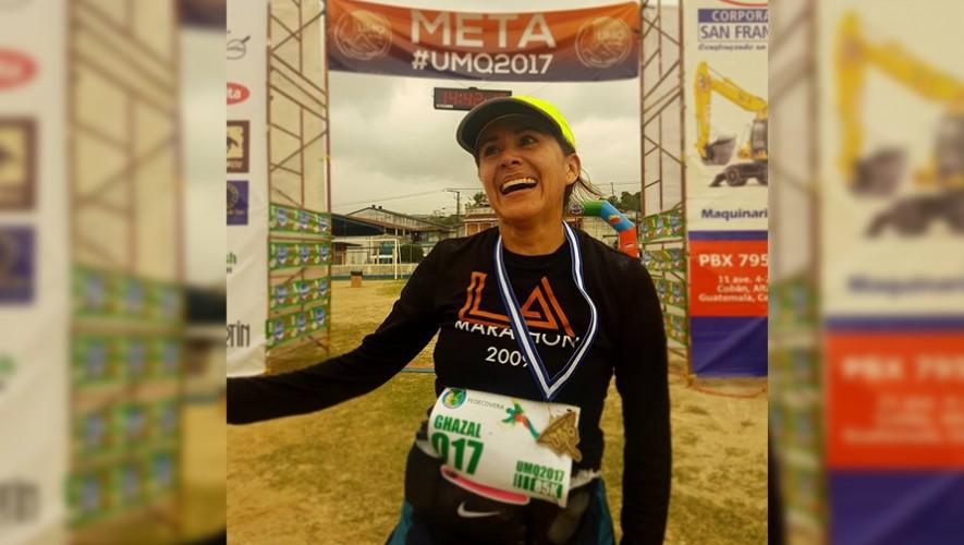 Nury Valladares fue la ganadora de los 85 kilómetros femenino. (Foto: Expediciones Lucianos)
