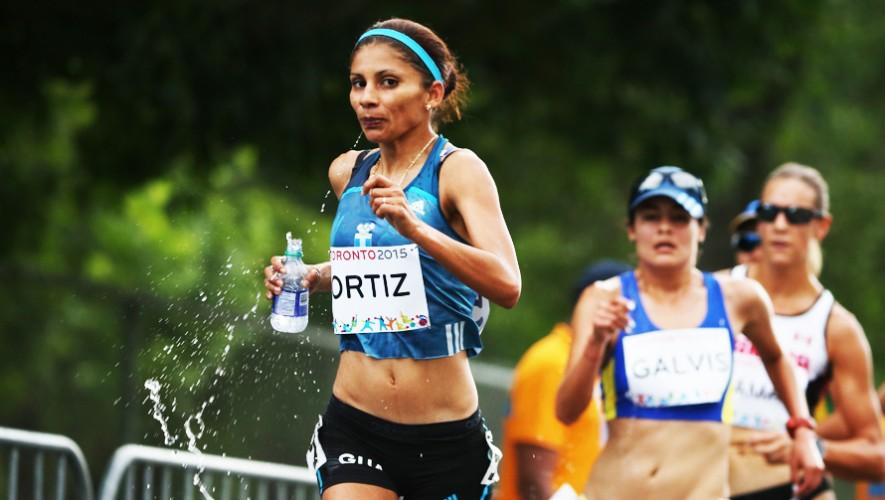 Mirna Ortiz quiere repetir el subcampeonato que consiguió en la edición 2013 de este Torneo de Marcha. (Foto: COGuatemalteco)