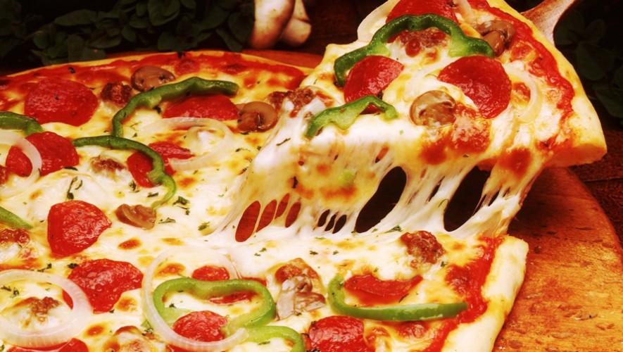 Pizza Gigante en Centro Comercial Parque Las Américas | Marzo 2017