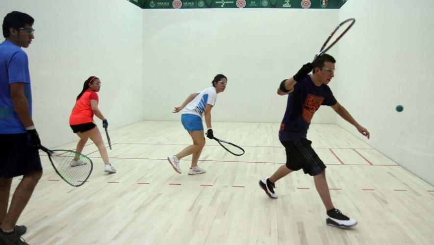 El ráquetbol guatemalteco dirá presente en el circuito profesional que se realizará en Estados Unidos. (Foto: COGuatemalteco)