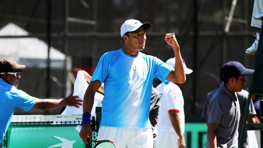 Tras dos torneos en Egipto, Wilfredo buscará disputar su primera final en el Futuro F9 de tenis. (Foto: COGuatemalteco)