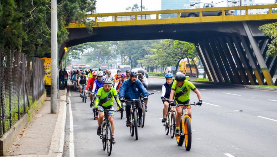 Reto en bicicleta de 75K en la Ciudad de Guatemala | Marzo 2017