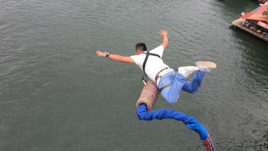 Salto en Bungee en Puente de Río Dulce   Abril 2017