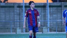 Sebastián Laparra es el segundo guatemalteco en jugar para la filial del Levante, tras Daniel Guay. (Foto: Prolevante)