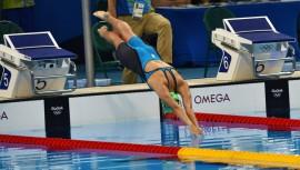 Valerie Gruest fue nombrada como una de las atletas más destacadas en su equipo en el cierre de temporada de natación universitaria. (Foto: COGuatemalteco)