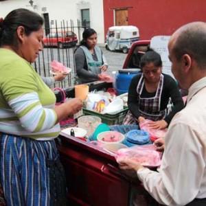 venta de comida típica en guatemala