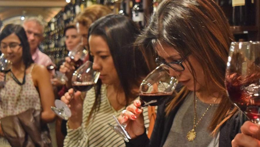 Noche de vinos españoles de Amigos del Vino en Hacienda Real | Marzo 2017