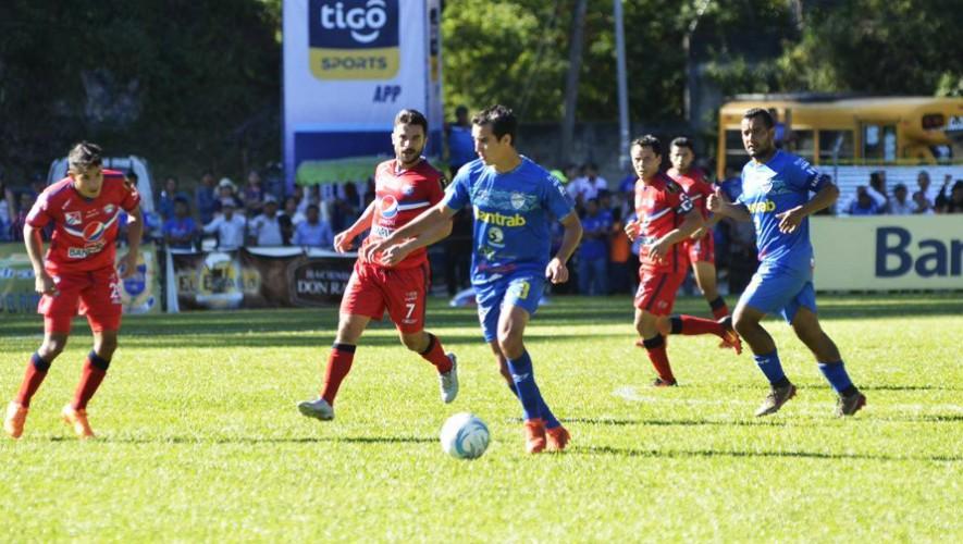 Partido de Xelajú vs Cobán por el Torneo Clausura   Marzo 2017