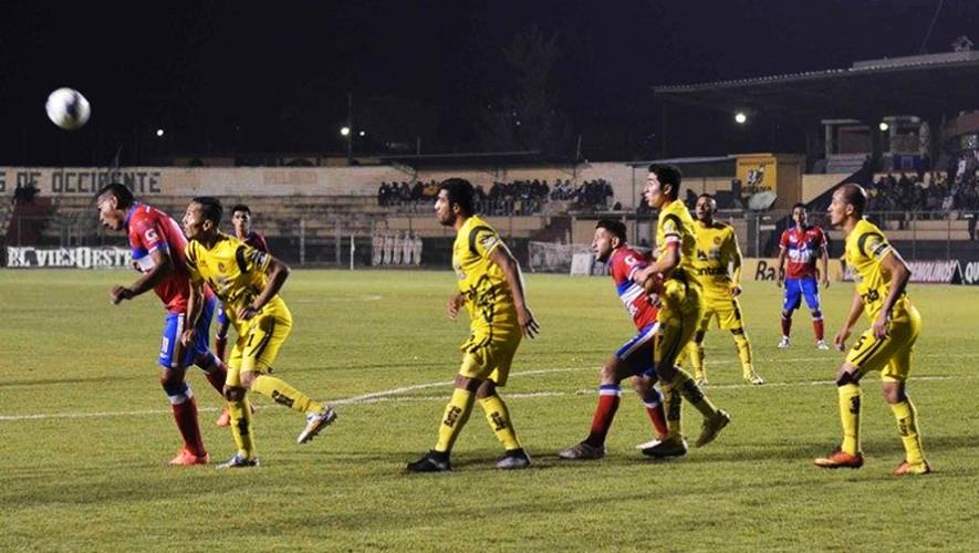 Partido de Xelajú vs Marquense por el Torneo Clausura | Marzo 2017