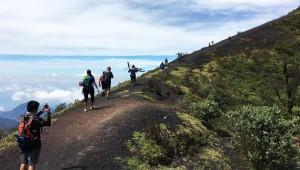 Colazo en bicicleta en el Volcán de Pacaya | Abril 2017