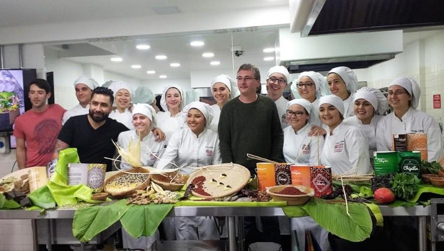 Andoni Luis Aduriz, reconocido chef español visitó Guatemala junto al chef guatemalteco Diego Télles