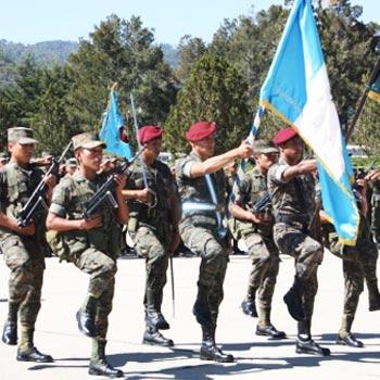 Asueto del día del Ejército 2017 en Guatemala