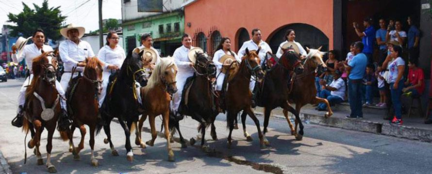 Desfile Hípico Amatitlán