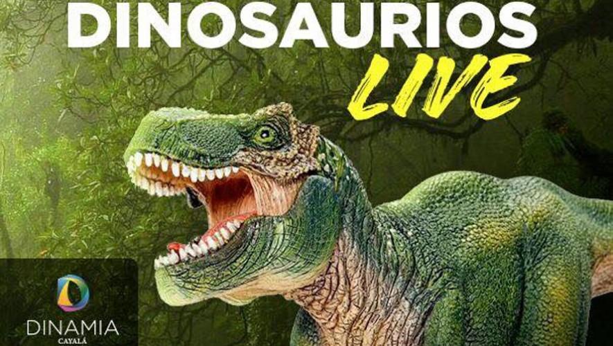 Dinosaurios Live en Dinamia Cayalá | Abril 2017