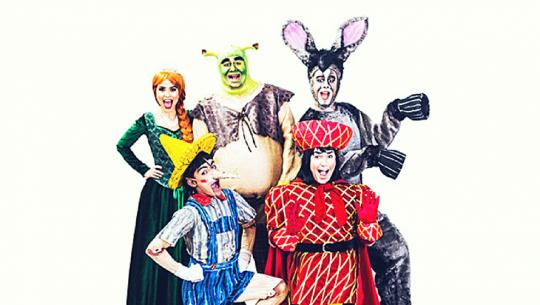"""Shrek el musical"" en Teatro Dick Smith | 2017"