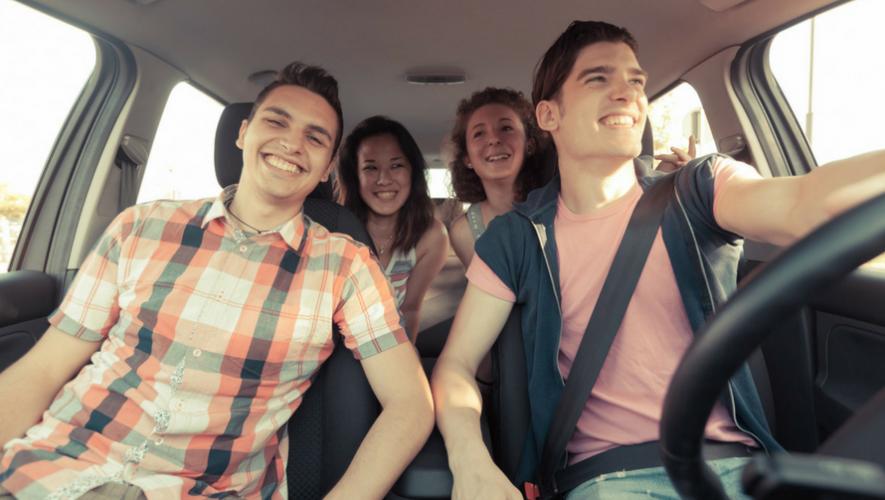 Carpooling por Día de la Tierra en Universidad de San Carlos | 2017