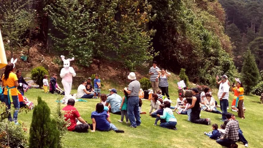 Picnic de Pascua de Anido en Centro Comercial Vista Muxbal | Abril 2017