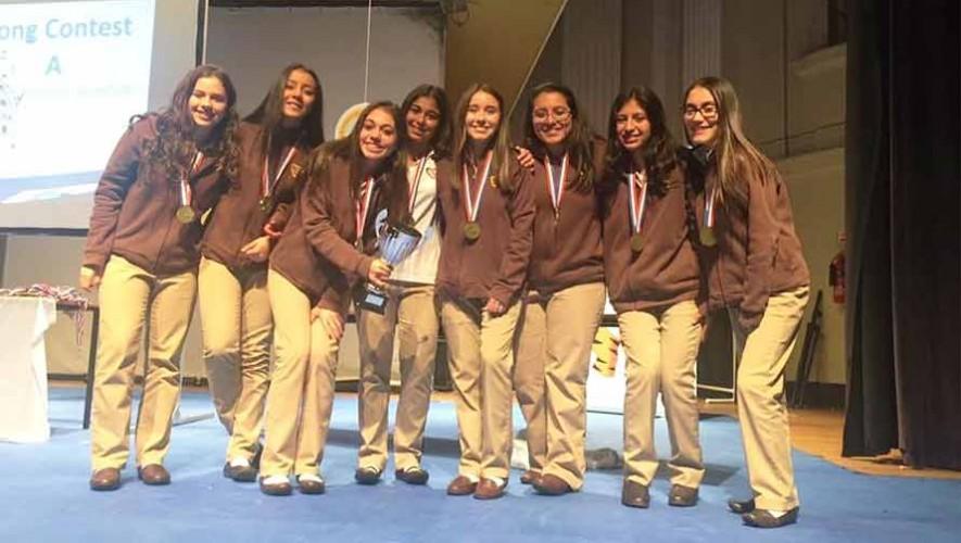 Estudiantes guatemaltecas ganan el primer lugar en el World English Experience 2017