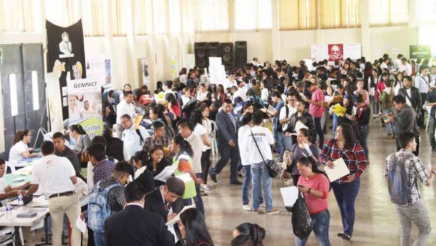 Feria de Empleo 2017 en el Parque de la Industria, Ciudad de Guatemala