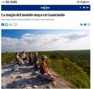 Guatemala sen encuentra entre los mejores lugares turísticos para viajar en el mundo