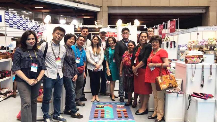 Guatemaltecos exponen productos artesanales en la feria Giftionery Taipei 2017