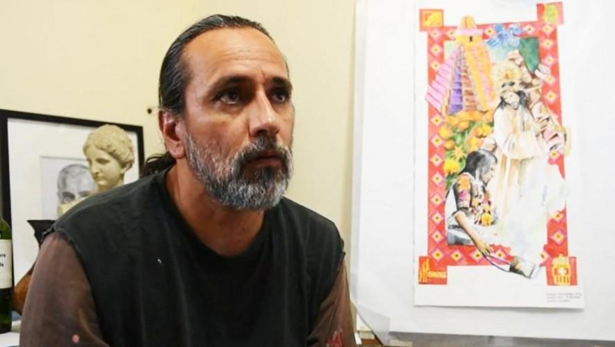 Impresionantes alfombras artísticas en Guatemala del maestro Jorge Corleto